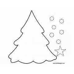 sagoma di albero di Natale
