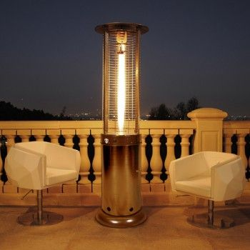 This Lava Heat Opus Lite Natural Gas Patio Heater Made Of Commercial Grade Materials