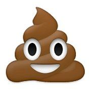 Let's be real, we know the poop emoji is used universally.