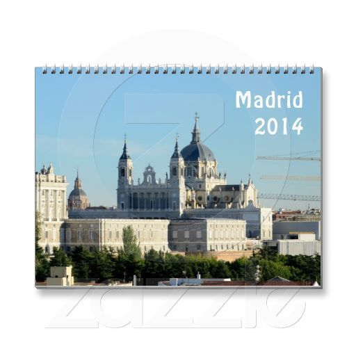 SOLD Madrid, Spain 2014 Calendars