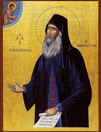 Silouan the Athonite icon - orthodoxmonasteryicons.com