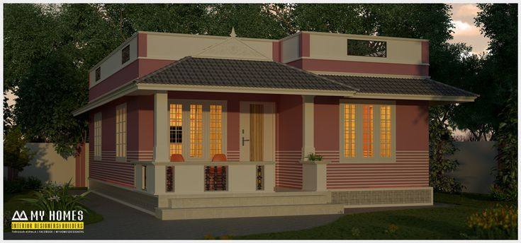 1150 Sq Ft House Design In Kerala Traditional Style Kerala
