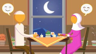 [Animation – Episode 4] Habits of Happy Productive Muslim Couples: They  are grateful to one another