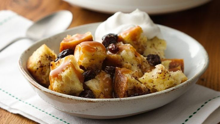 Slow-Cooker Old-Fashioned Bread Pudding