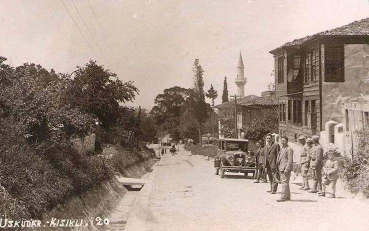 İstanbul, Üsküdar kısıklı 1930'lar.