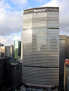 MetLife; formerly PanAm Building.  Totallt destroyed view of Park Ave.