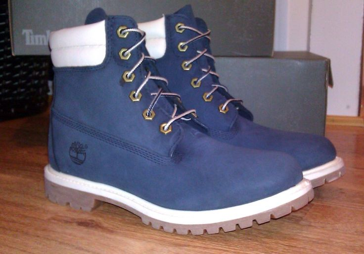 Got my #navy #timberland #boots #timberlands #timbs #6inchboots