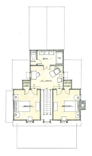 13 best architectural drawings images on pinterest for Visbeen architects floor plans