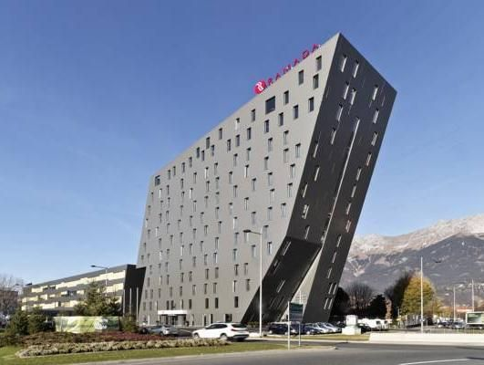 Innsbruck Ramada Innsbruck Tivoli Austria, Europe Set in a prime location of Innsbruck, Ramada Innsbruck Tivoli puts everything the city has to offer just outside your doorstep. The hotel offers a high standard of service and amenities to suit the individual needs of all travelers. Free Wi-Fi in all rooms, 24-hour front desk, facilities for disabled guests, luggage storage, car park are just some of the facilities on offer. Some of the well-appointed guestrooms feature televis...