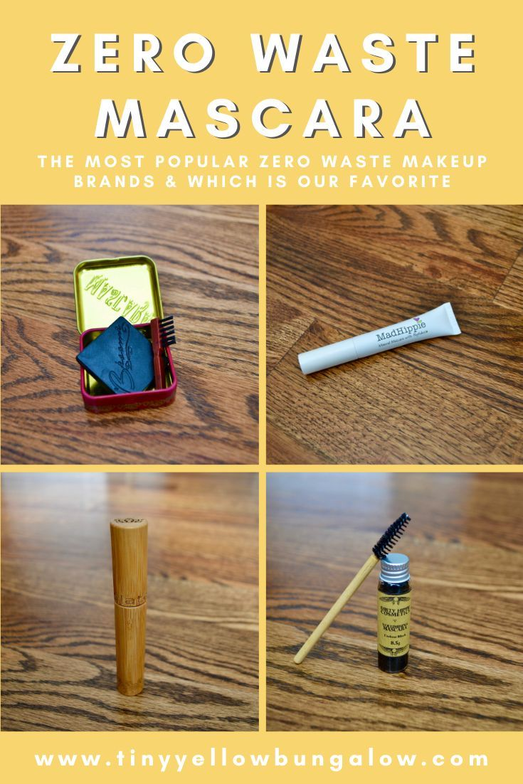 zero waste mascara Zero waste, Makeup brands, Mascara