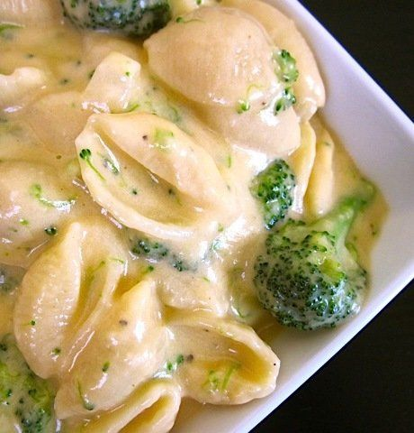 Recipe For Broccoli Shells n Cheese - Of course, there is the issue of guilt surrounding eating large quantities of cheese so I added some good ol' broccoli to rationalize it all. ha. right!