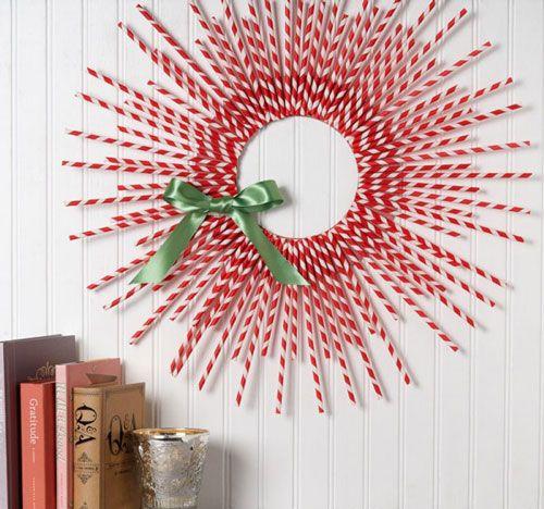Designer MacGyver: 5 Holiday Straw Crafts to Drink Up (http://blog.hgtv.com/design/2012/12/03/designer-macgyver-5-holiday-straw-crafts-to-drink-up/?soc=pinterest)