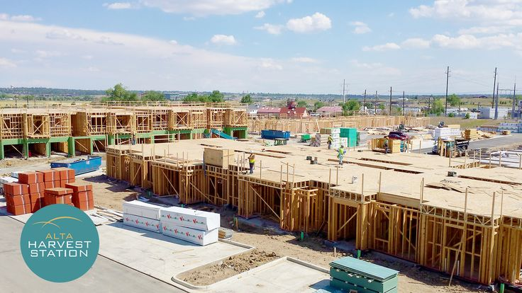 Alta Harvest Station construction is well on the way. The new luxury apartment complex in Broomfield is coming to you very soon.