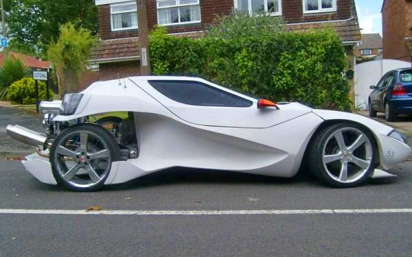 radically modified Nova (Sterling) kit car on a VW chassis ...