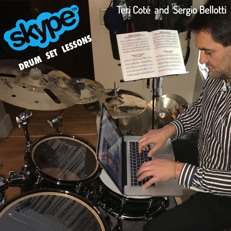 #DrumSet Web Lessons: live, online and fully interactive. #Sergio #Bellotti #Teri #Cote #drummer #drummers #drumming #skypelesson #drumlesson #drumteacher  #YamahaDrums #vicfirth #remopercussion #Zildjian
