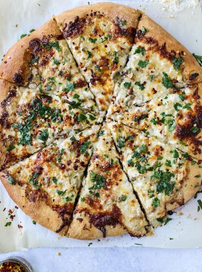 Pizza de sauce à la palourde blanche