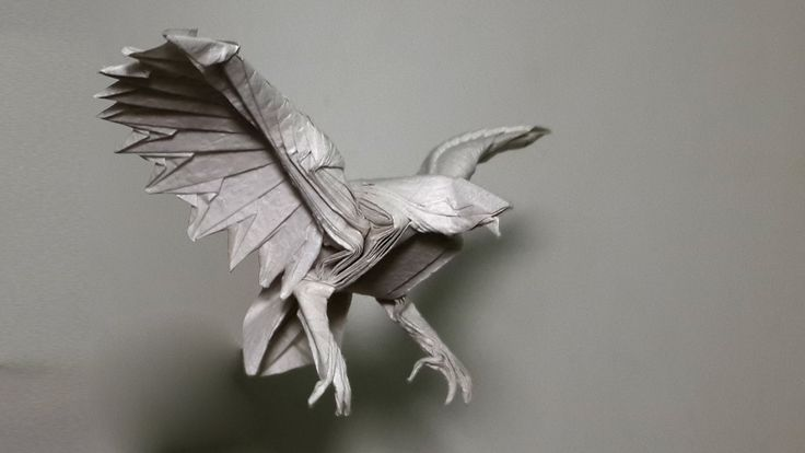 How to make an origami eagle (Henry Phạm)