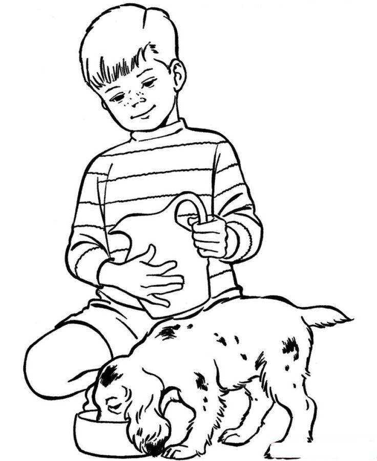Hayvanlari Koruma Gunu 4 Ekim Boyama