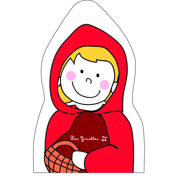 Le petit chaperon rouge fait partie des marionnettes ! Vite allons livre ce petit pot de beurre chez mère Grand... et gare au loup !