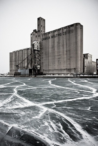 silo and ice bySam Javanrouh