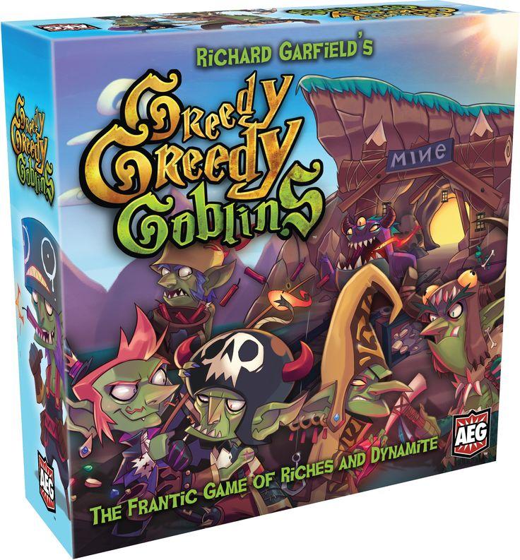Image result for greedy goblin goblin board games