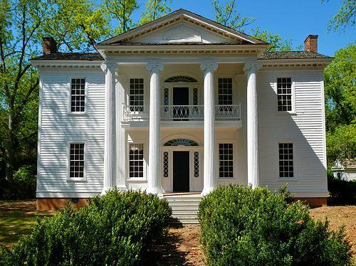 Nutwood Plantation, La Grange, Georgia, 1833.