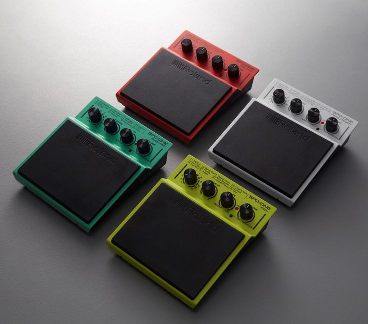 Roland does for drum pads what stompboxes did for guitar effects - CDM Create Digital Mu...