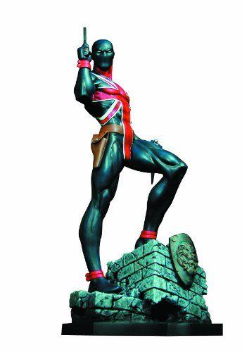 Bowen Designs Union Jack Painted Statue ** Click image to review more details.
