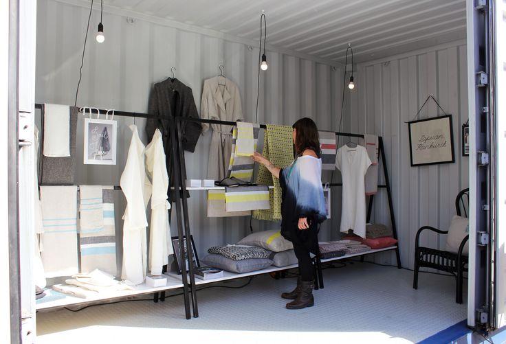 """Lapuan Kankurit at the Abattoir 5-14.9.2014 in Helsinki, at the """"Lähimuoto"""" exhibition."""