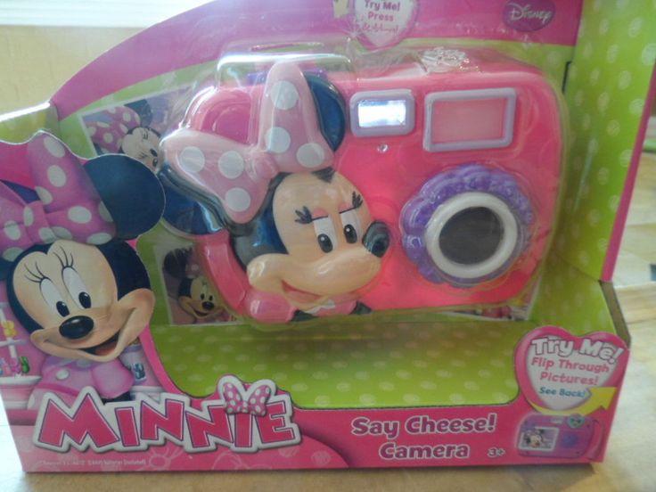 DISNEY, MINNIE SAY CHEESE CAMERA.  #Disney