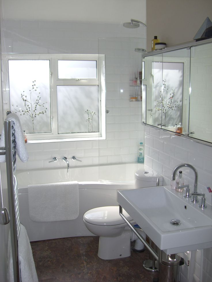 Photos Of small bathroom White Sink And Toilet On The Floor Plus Gray Shower Curtain Inside Small Bathroom Window For Your House small bathroom window for Your