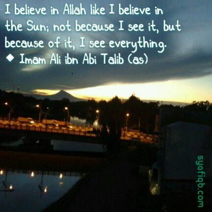 Imam Ali's Saying