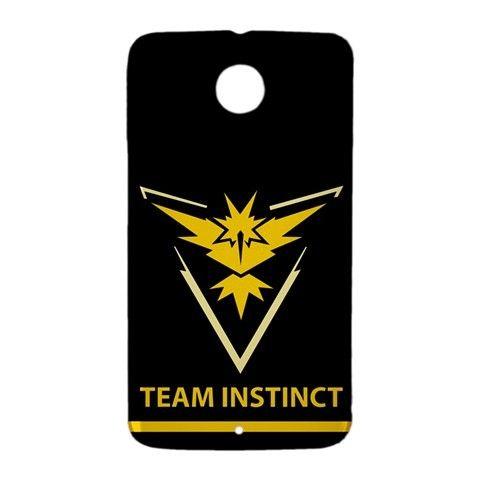 Team Instinct Pokemon GO Google Nexus 6 Case Cover