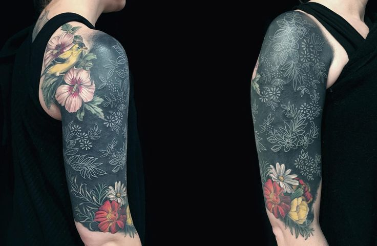 The 25 best solid black tattoo ideas on pinterest arm for Solid black tattoo cover up