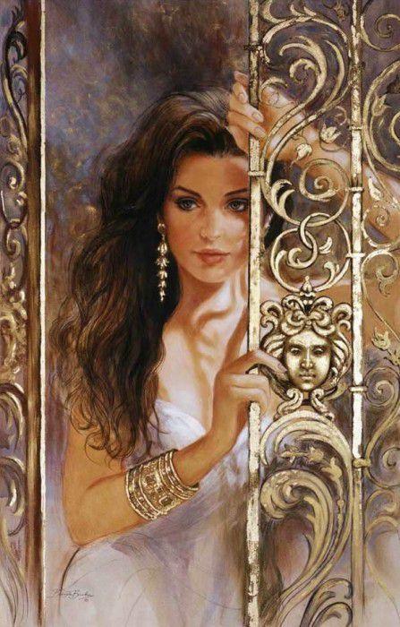 Las señoras finas de la pintora Brendy Berk (Brenda Burke)\u000d\u000aGirls and Goddesses - Circe