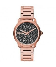 Diesel Damen Armbanduhr Analog Quarz Edelstahl DZ5427