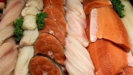 Study: those who eat fish once a week scored 4.8 points higher on the IQ test than those who seldom or never included fish