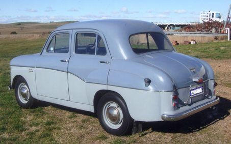 1958 STANDARD TEN - The Standard Ten was a model name given to several small cars produced by the British Standard Motor Company between 1906 and 1961.
