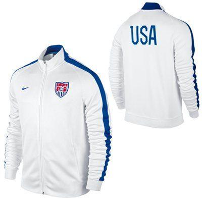 adidas usa soccer jacket