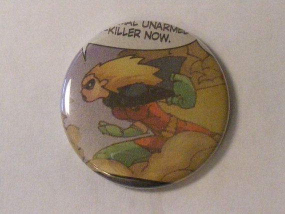 "Back To School Sale// Comic Book 1.5"" Button// Robin (Stephanie Brown), $0.80Back To School"