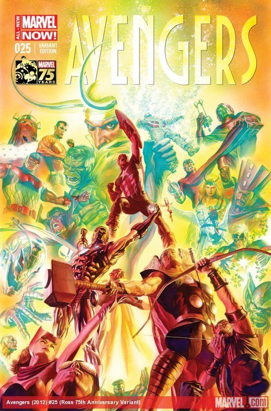 AVENGERS (2012) #25 (ROSS 75TH ANNIVERSARY VARIANT)