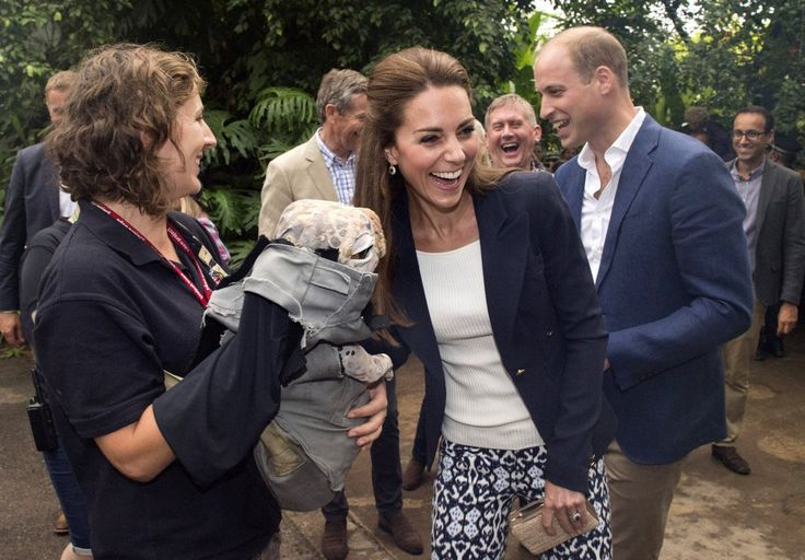 Prince William and Kate Middleton's Latest Outing Includes a Very Creepy Toy Dinosaur​