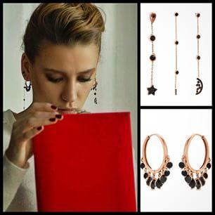 Instagram photo by bendistaki - Bu akşam güzel Mira'da tekrar görebileceğiniz yeni Bendis küpeler Lidyana'da #Bendis markamızda canlar!!!❤️❤️❤️❤️ #medcezir #mira #bendistaki #vega #küpe #salkım #küpe #925 #gümüş #silver #fashion @lidyanacom #jewelry #trend #style All at bendistaki.com!!