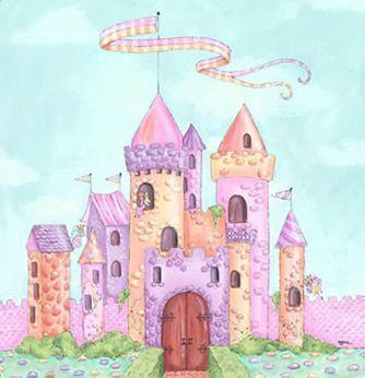 Best 25 castle mural ideas on pinterest princess mural for Fairy castle mural