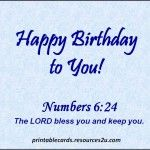Beautiful Religious Birthday Cards, Free Christian Birthday Messages & Sayings | WooInfo