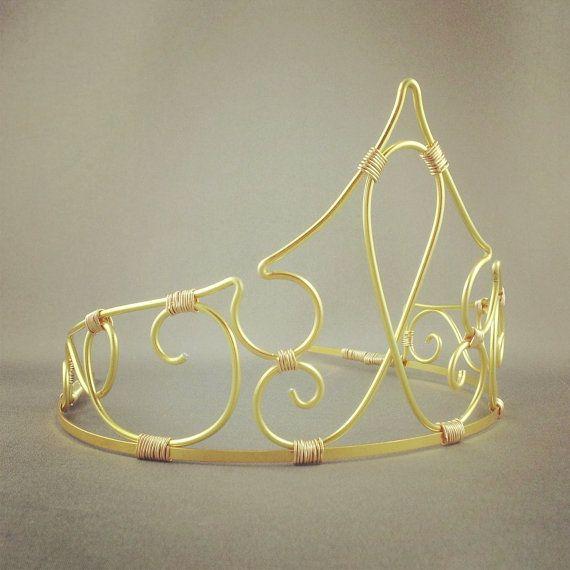 Aurora -  Sleeping Beauty Crown Fairy Tale Tiara Aurora Costume - Made to Order