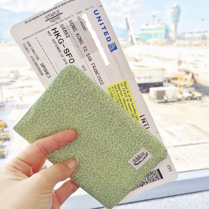 #travel craft homemade #passportcover