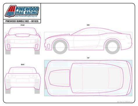 "Результаты поиска изображений по запросу ""Pinewood Derby Car Templates Printable"""