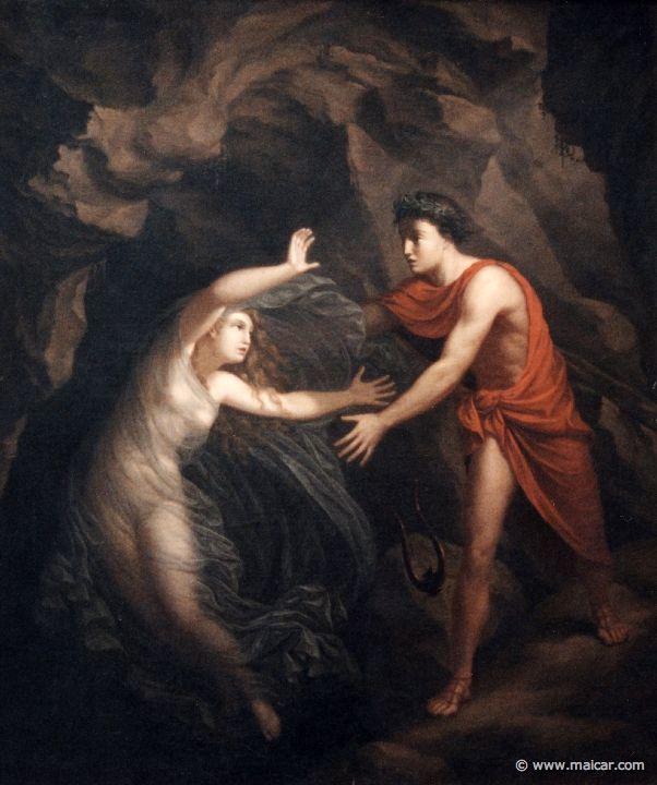 5125.jpg - 5125: C. G. Kratzenstein-Stub, 1793-1860: Orpheus and Eurydice. Ny Carlsberg Glyptotek, Copenhagen.