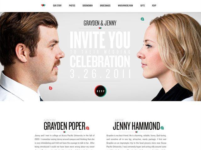 Best 25 invitation websites ideas on pinterest diy wedding 25 examples of beautiful wedding invitation websites stopboris Images